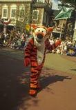 Desfile mágico Tigger del reino del mundo de Disney Imágenes de archivo libres de regalías