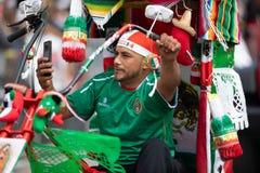 Desfile mexicano de la independencia fotos de archivo