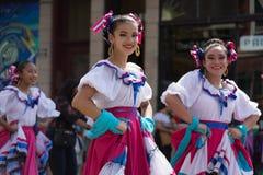Desfile mexicano 2017 del Día de la Independencia de Pilsen Imagen de archivo libre de regalías