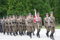 Desfile militar Foto de archivo libre de regalías