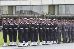 Desfile militar Fotografía de archivo