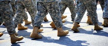 Desfile militar Fotos de archivo libres de regalías
