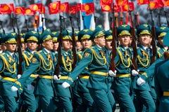 Desfile militar en Moscú, Rusia, 2015 Foto de archivo