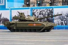 Desfile militar en Moscú, Rusia, 2015 Imágenes de archivo libres de regalías