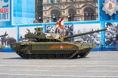 Desfile militar en Moscú, Rusia, 2015 Imagen de archivo libre de regalías