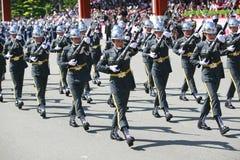 Desfile militar en Taiwán Foto de archivo