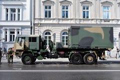Desfile militar en Varsovia Fotografía de archivo libre de regalías