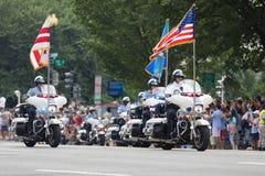 Desfile nacional 2018 del Día de la Independencia foto de archivo