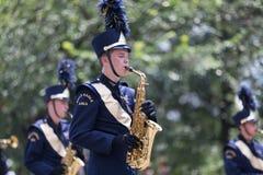 Desfile nacional 2018 del Día de la Independencia fotos de archivo libres de regalías