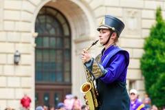 Desfile nacional 2015 del Día de la Independencia fotografía de archivo libre de regalías
