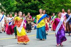 Desfile nacional 2015 del Día de la Independencia fotos de archivo