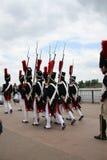 Desfile napoleónico, Burdeos, Francia Foto de archivo