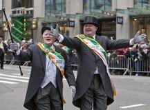 Desfile Nueva York 2013 del día de St Patrick Fotos de archivo libres de regalías