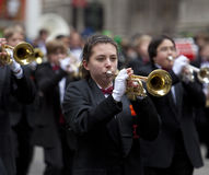 Desfile Nueva York 2013 del día de St Patrick Fotos de archivo