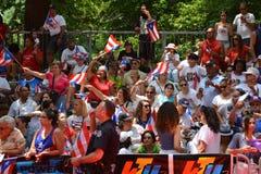 Desfile puertorriqueño 2015 del día foto de archivo libre de regalías