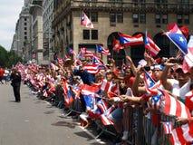 Desfile puertorriqueño del día Fotos de archivo libres de regalías