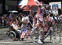 Desfile puertorriqueño del día; NYC 2012 Imagenes de archivo