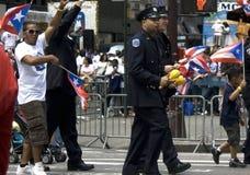 Desfile puertorriqueño del día; NYC 2012 Fotografía de archivo libre de regalías
