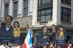 Desfile puertorriqueño del día; NYC 2012 Foto de archivo