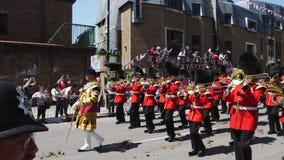 Desfile real de la marcha de los guardias después de la boda real
