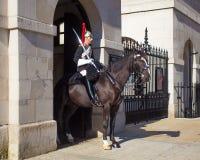 Desfile real Londres de Horseguards Foto de archivo