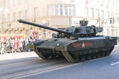 Desfile ruso del ejército Imagen de archivo libre de regalías