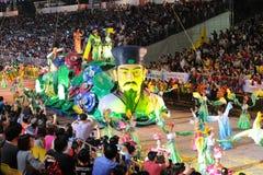 Desfile Singapur de Chingay 2011 Fotografía de archivo