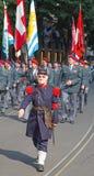 Desfile suizo del día nacional en Zurich Fotos de archivo