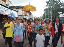 Desfile temporario de la tradición Imágenes de archivo libres de regalías