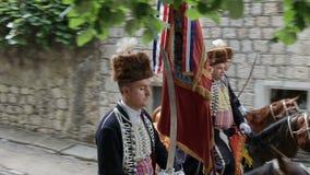 Desfile tradicional del juego de Alka en Sinj metrajes