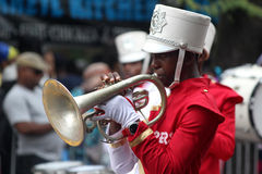 Desfile y carnaval americanos indios del oeste del día. Día de trabajo, Septembe Fotografía de archivo