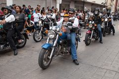 Desfilefiesta's Mexicanas Royalty-vrije Stock Foto's