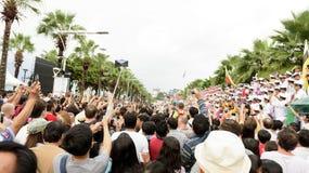 19 11 2017 desfiles navales, internacionales internacionales 2017 del aniversario del ` s 50 de la ANSA del comentario de la flot Imagen de archivo