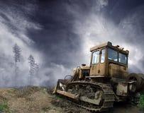 Desflorestamento Imagens de Stock Royalty Free