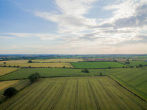 Desford Leicestershire where there are windmills Royalty Free Stock Image
