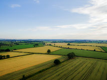 Desford Leicestershire where there are windmills Stock Image