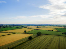 Desford Leicestershire where there are windmills Royalty Free Stock Images