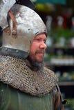 Desgaste de la gente como Edad Media Foto de archivo
