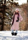 Desgaste de moda del invierno Fotos de archivo