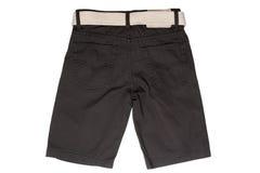 Desgaste del ` s de los niños - pantalones cortos de la mezclilla imagen de archivo libre de regalías