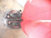 desgaste do pé Fotografia de Stock