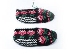 Desgaste tradicional turco del pie, botines, botines Imagenes de archivo
