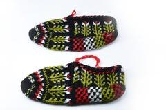 Desgaste tradicional turco del pie, botines, botines Fotos de archivo libres de regalías