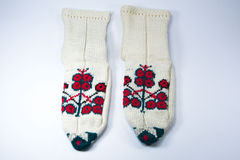 Desgaste tradicional turco del pie, botines, botines Imágenes de archivo libres de regalías