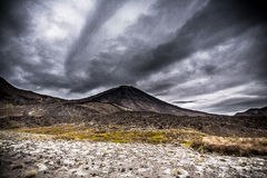 Desgraça do Mt NgauruhoeMt no parque nacional NZ de Tangariro Imagens de Stock Royalty Free