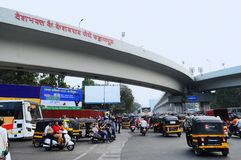 Deshbhakta Keshavrao Jedhe bro, Swargate, Pune, Indien arkivbilder