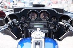 Deshboard super- della bici fotografia stock libera da diritti