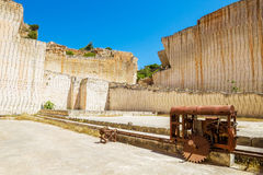 Des'hostal quarry Royalty Free Stock Image