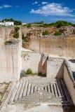 Des'hostal quarry tiny maze Stock Photography