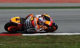 Deshuesadora de Casey del jinete de MotoGP Imagen de archivo libre de regalías